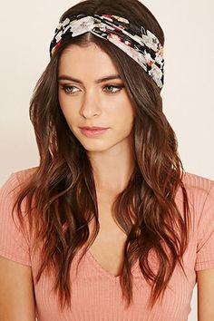 Floral Twist-Front Headwrap Women Accessories 8a1bae4606f