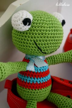 Felix the Frog – free amigurumi pattern in Dutch | lilleliis