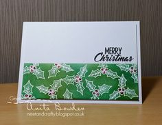 Hi there     Today I'm excited to be sharing a card as part of Kylie's Twelve Days of Christmas Cards Challenge .         For twelve days K...