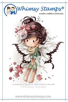 Iris - Whimsy Stamps