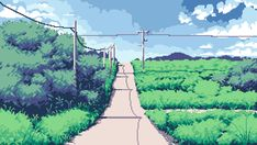 I just finished my second japanese themed pixel art; I think it turned out better than the first one. Japanese Nature, Japanese Art, Japanese Landscape, Vaporwave, Pixel Art, Art Tumblr, Relaxing Art, Isometric Art, Hip Hop Art