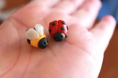 Hey, I found this really awesome Etsy listing at https://www.etsy.com/listing/229825076/polymer-clay-lady-bug-or-bee-mini-clay