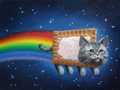 """Nyan!"" by Allison Reimold"