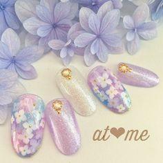Bridal Nails, Wedding Nails, Cute Nails, Pretty Nails, Asian Nails, Self Nail, Classy Nail Art, Nail Art Techniques, Kawaii Nails