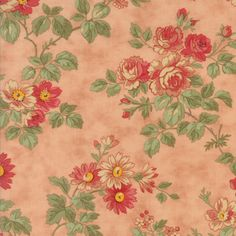 Moda Fabric 3 Sisters Courtyard 44120-16...Sold in continuous cut 1/2 yard increments by TheQuiltingCloset on Etsy