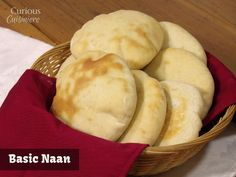 Naan from Curious Cuisiniere