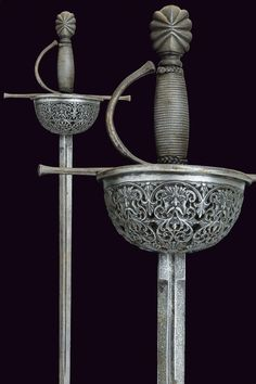 A cup-hilted sword in the style of 17th Century      provenance:Europe  dating: 19th Century