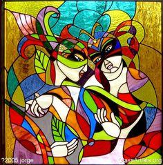 """""""Masquerade Couple"""" by Jorge Cruz"""