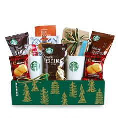 Starbucks® Holiday Evergreen Sampler Gift Set