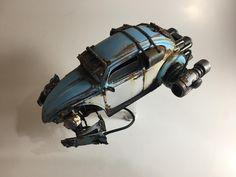 RocketWagen - Jet powered VW beetle scratch built weathered