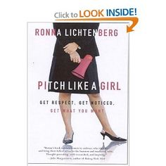 The best thing in this book is when #RonnaLichtenberg breaks down the different pitching/business styles (pink, blue or striped). Very valuable information.