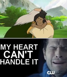 The Legend of Korra/ Avatar the Last Airbender: I'm with you bro!