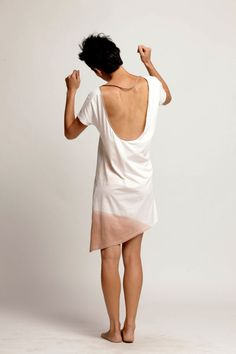 dip dye backless dress di duende74 su Etsy