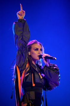 Perrie performing at the Dangerous Woman Tour in Phoenix - 4/02/2017
