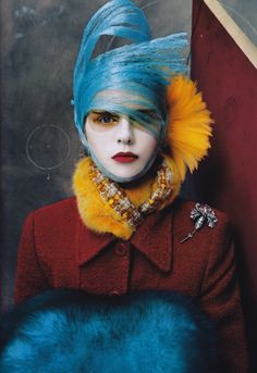 mages from US Vogue Magazine October 2003 Photography: Steven Meisel Fashion Editor: Camilla Nickerson