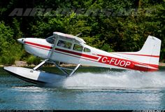 Cessna 180K Skywagon 180 aircraft picture..Flying a Floatplane is a great adventure and wonderful