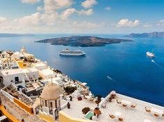"Scenery: 98.3 Friendliness: 89.8 Atmosphere: 94.4 Restaurants: 79.8 Lodging: 86.8 Activities: 78.4 Beaches: 68.9 ""There is no place like Santorini, in the whole world"" say our readers, who love the ""whitewashed buildings, wonderful beaches and views to die for."" Their best memories are of the caldera vistas, the black-sand beach and the ""crystal clear water,"" but they also cast their votes for the island's great shopping"" and ""awesome food."" One reader said to ""stroll the streets, walk the…"