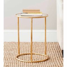 Safavieh Shay Accent Table, Gold