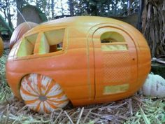 This should totally be our pumpkin! Campers... of course! :)