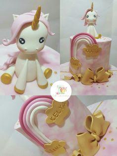 Unicorn cake / Gâteau licorne