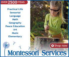 Shop Montessori Services and Materials