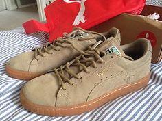 Puma Suede Classic Tan Gum Sole Nike Edition | eBay  http://cgi.ebay.co.uk/ws/eBayISAPI.dll?ViewItem&item=190922937553