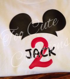 Boys Mickey Mouse Birthday Shirt, Disney Birthday Shirt, Vinyl Shirt, Disney Cruise, Disney Hat Shirt for kids, Personalized