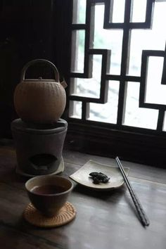 一席茶事,一段时光;禅茶一味,静品人生。 Tea Art, Chinese Tea, Kettles, Japanese Pottery, Stoves, Teas, Photograph, Plates, Coffee