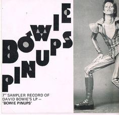 """7"""" Sampler of 'Pinups'. New Zealand 1973"""