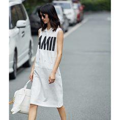 Printed Column Sleeveless Pocket Summer Hat Dress - OACHY The Boutique #boutique, #oachy, #printed, #column, #sleeveless