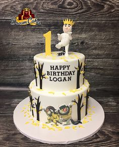 Where the Wild Things Are Cake by Dream Cakes Chicago