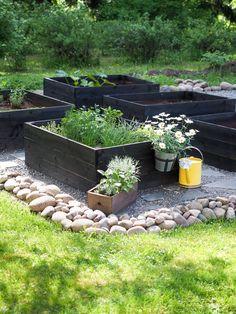 Backyard Vegetable Gardens, Potager Garden, Veg Garden, Vegetable Garden Design, Garden Planters, Garden Cottage, Outdoor Gardens, Garden Beds, Garden Spaces