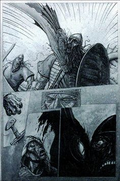 beowulf and grendel fighting - Google Search