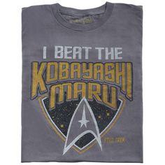 Star Trek Kobayashi-Maru T-Shirt - getDigital