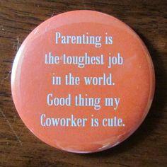 Parenting description...pocket mirror from etsy.