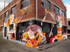 Entre o grafiti e o design