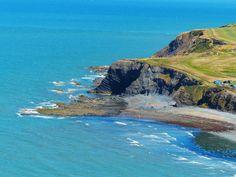 # Ceredigion Wales Clarach Bay