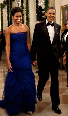 President and First Lady Obama. Arm candy!!! Oh you look nice too Mr. President