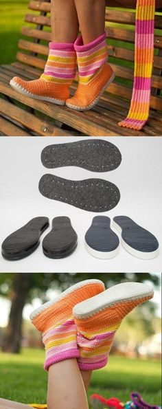 crochet shoes. Where can I find these soles. So I can make slippers for my whole family: