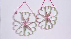 Sweet Valentine's Day Crafts for Kids: Valentine's Day Heart Wreath Craft (via FamilyFun Magazine)