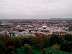 Bristol view from tower