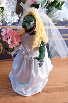 Bridezilla doll...the only bridezilla of the wedding. Will promise to make you smile, Handle business, or crack skulls