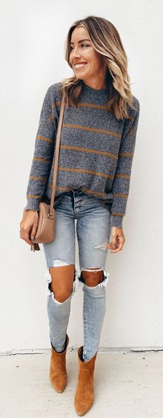 How to Wear: The Best Casual Outfit Ideas - Fashion Fashion Mode, Fashion Week, Look Fashion, Trendy Fashion, Womens Fashion, Fashion Trends, Fall Fashion, Fashion 2015, Easy Mom Fashion
