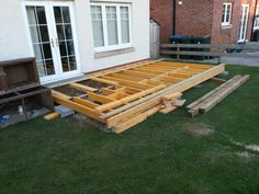 Deck frame 2