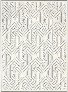 Pattern in Islamic Art Arabic Pattern, Geometry Pattern, Pattern Art, Pattern Design, Swirl Pattern, Cool Patterns, Textile Patterns, Print Patterns, Surface Pattern