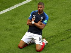 Soccer - Kylian Mbappe news: Paris Saint-Germain forward flattered by Pele talk but staying grounded after helping France soar into World Cup quarter-finals - World Sport News Psg, Soccer World Cup 2018, Fifa World Cup, Fixed Matches, Eric Cantona, Soccer Skills, Antoine Griezmann, New Paris, Crunches