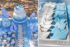 Βάπτιση στην Αίγινα Origami Boat, Favors, Arts And Crafts, Cake, Guest Books, Party, Presents, Guest Gifts, Kuchen