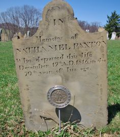 Nathaniel Paxton ( - 1816) - Find A Grave Photos