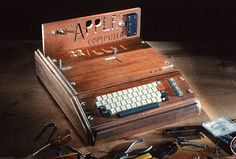 Apple-1 wooden computer possibly hand-built by Steve Jobs