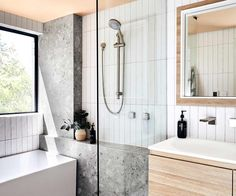 apartment bathroom Shannon Voss apartment bathroom renovation threw up some challenges, from strata hassles to space limitations. This is what he learnt Bathroom Renos, Bathroom Fixtures, Bathroom Renovations, Home Renovation, Master Bathroom, Dyi Bathroom, Bathroom Showers, Small Bathroom Plans, Bathroom Lighting